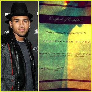 Chris Brown: I'm Done With Domestic Violence Class