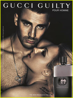 Chris Evans: New Gucci Guilty Ad!