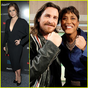 Amy Adams & Christian Bale: 'Fighter' NYC Screening