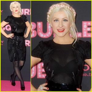 Christina Aguilera is Berlin 'Burlesque'