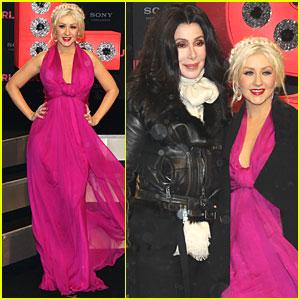 Christina Aguilera: Berlin 'Burlesque' Premiere!