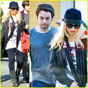 Christina Aguilera: Fred Segal with Matthew Rutler