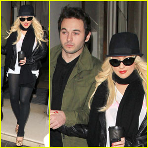 Christina Aguilera & Matt Rutler: London Lovebirds