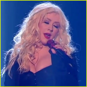Christina Aguilera Belts Out 'Beautiful' & 'Express' on 'X Factor'