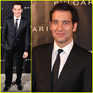 Clive Owen Celebrates Bulgari's 125th Anniversary