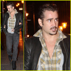 Colin Farrell: Brother's B-Day Party in Dublin!
