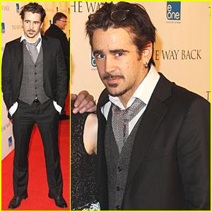 Colin Farrell: 'The Way Back' Premiere!