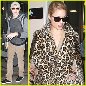 Dianna Agron & Chord Overstreet: From London to Los Angeles