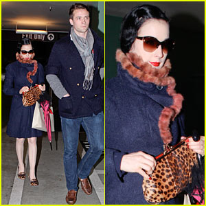 Dita Von Teese: Burberry Shopping with Louis Marie!