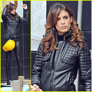 Elisabetta Canalis Films A Cute Commercial