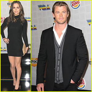 Chris Hemsworth & Eliza Dushku: Video Game Awards!