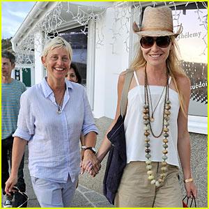 Ellen DeGeneres: Hermes Stop with Portia de Rossi!