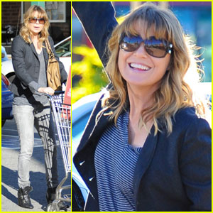 Ellen Pompeo Stocks Up at Whole Foods