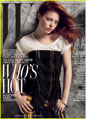 Emma Stone Covers 'W' Magazine January 2011