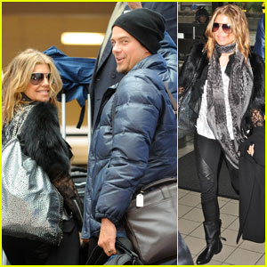 Fergie & Josh Duhamel: Flight to Fargo!
