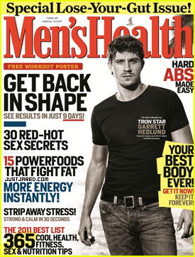 Garrett Hedlund Covers 'Men's Health' January 2011
