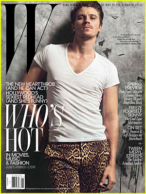 Garrett Hedlund Covers 'W Magazine' January 2011