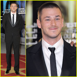 Gaspard Ulliel Shows Off His Shaved Head!