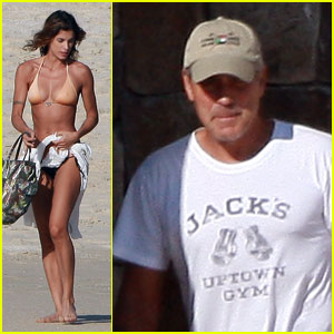 George Clooney & Elisabetta Canalis: Cabo Couple