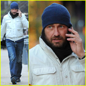 Gerard Butler: On The Run in New York