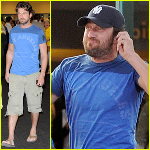 Gerard Butler: Photographer Fun in Miami!