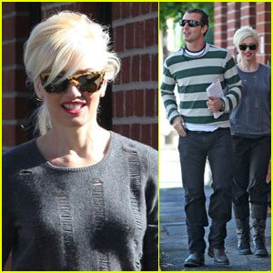 Gwen Stefani & Gavin Rossdale Make a Medical Run