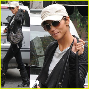 Halle Berry: Mirabelle Meal with Olivier Martinez