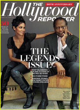 Halle Berry Covers Hollywood Reporter's Legends Issue