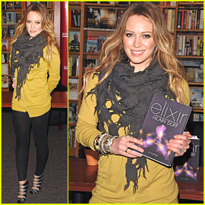 Hilary Duff: Book Signing at Glendale Borders!