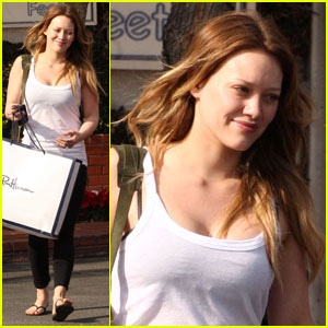 Hilary Duff: Fred Segal Shopper