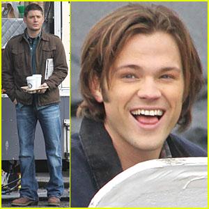 Jensen Ackles & Jared Padalecki: 'Supernatural' Smiles
