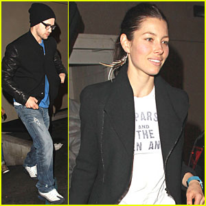 Jessica Biel: Gearing Up for 'New Year's Eve'?