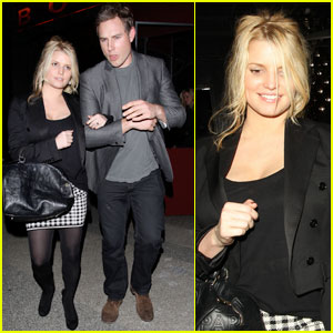 Jessica Simpson & Eric Johnson: Clubbing Couple