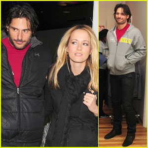 Joe Manganiello: Under Armour with Audra Marie!