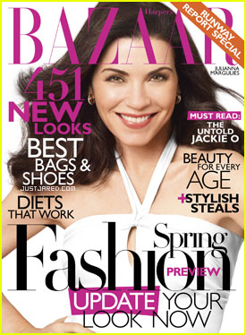 Julianna Margulies Covers 'Harper's Bazaar' January 2011