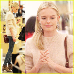 Kate Bosworth: Barneys Shoe Shopper