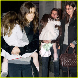 Katie Holmes & Tom Cruise: Night out with Suri!
