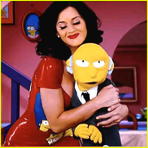 Katy Perry: 'The Simpsons' Christmas Episode Cameo!