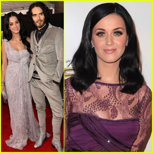 Katy Perry & Russell Brand: 'The Tempest' Premiere Pair