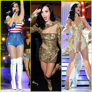 Katy Perry: Saluting & Singing for the Troops!