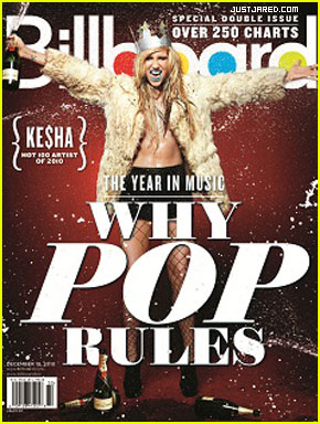 Ke$ha: Billboard's Hot 100 Artist of the Year!