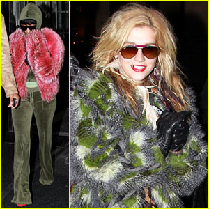 Nicki Minaj & Ke$ha: Feathered Fun in NYC!