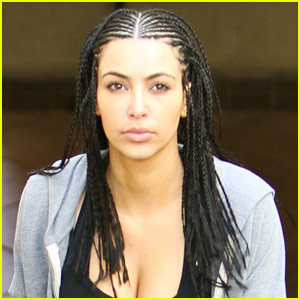 Kim Kardashian: Cornrows for New Year's!