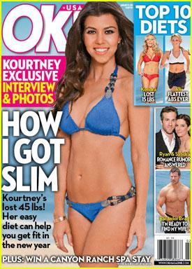 Kourtney Kardashian: Bikini Bod for 'OK' Magazine