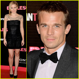 Kristen Bell & Cam Gigandet Go 'Burlesque' in Spain