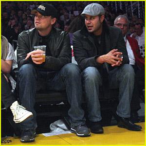 Leonardo DiCaprio Loves The Lakers