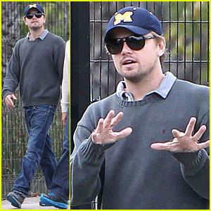 Leonardo DiCaprio: Museum of Art Wolverine!