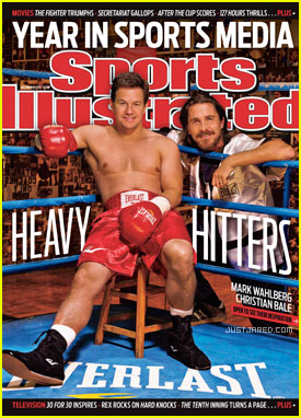 Christian Bale & Mark Wahlberg Cover 'Sports Illustrated'
