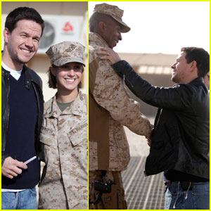 Mark Wahlberg Salutes the Troops