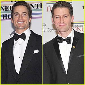 Matthew Morrison & Matt Bomer: Kennedy Center Honors!